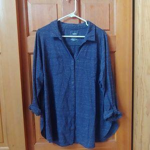 Sonoma 2x 3/4 length shirt